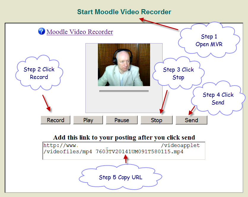 How to embed video into a moodle forum posting for Embed a forum into your website