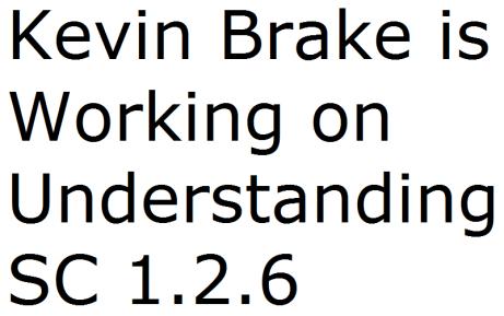 Kevin Brake2 - Understanding SC 1-2-6